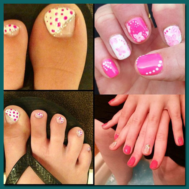 Signature Manicure and Pedicure